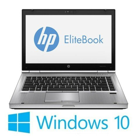 Laptop Refurbished HP EliteBook 8470p , i5-3380M, Win 10 Home